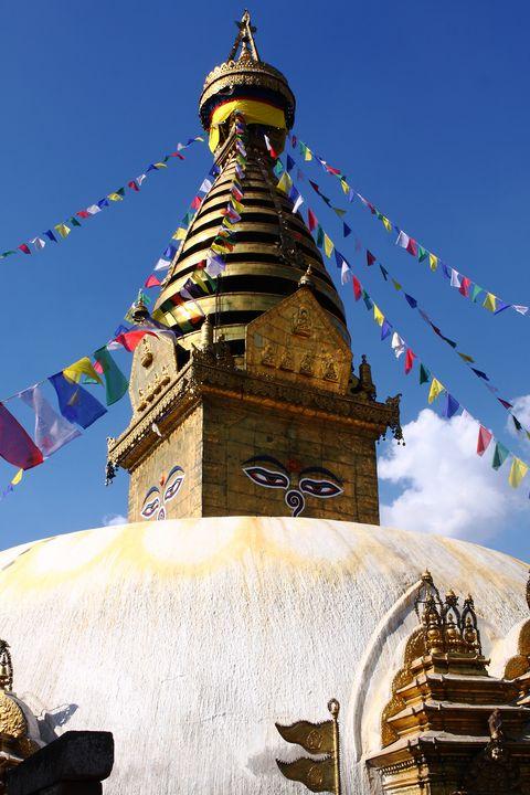 Swayambhunath Temple, Kathmandu - Aidan Moran Photography