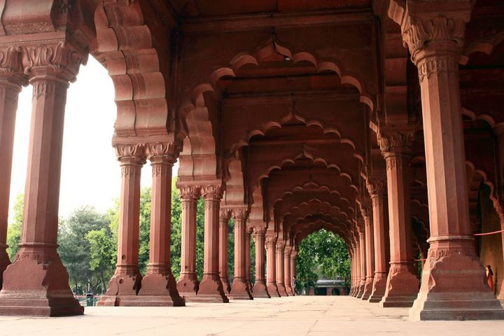 Engrailed Arches Red Fort, New Delhi - Aidan Moran Photography