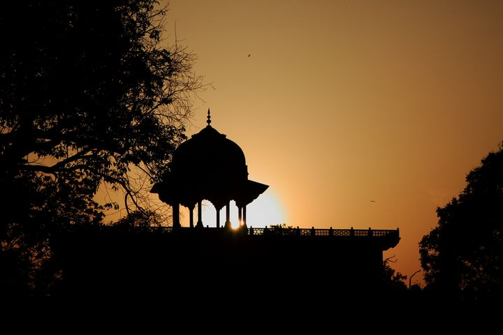 Moti Masjid At Sunset, Taj Mahal - Aidan Moran Photography