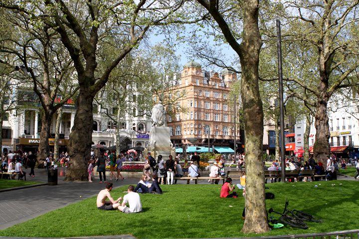 Leicester Square, London - Aidan Moran Photography