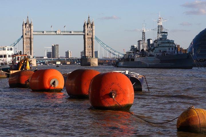 The River Thames, London, England - Aidan Moran Photography