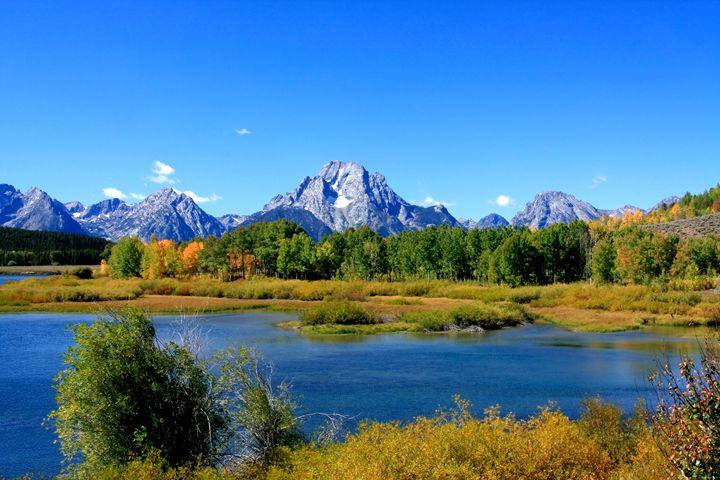 Mount Moran, Grand Tetons, USA - Aidan Moran Photography