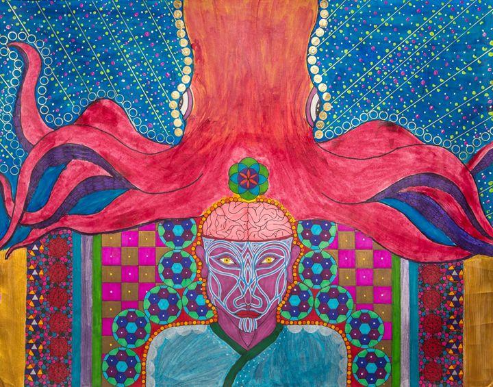 Upon An Atlantis Dream - Tanner Bogard Art