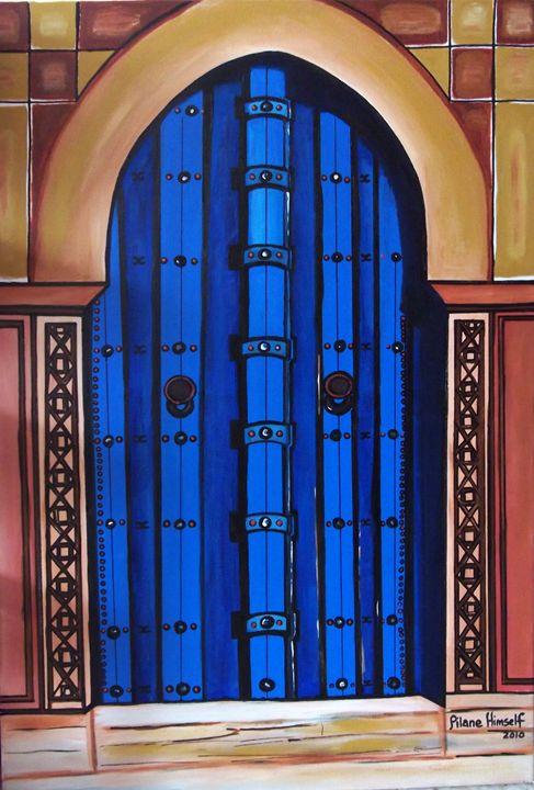 Moroccan Door - Pilane Himself
