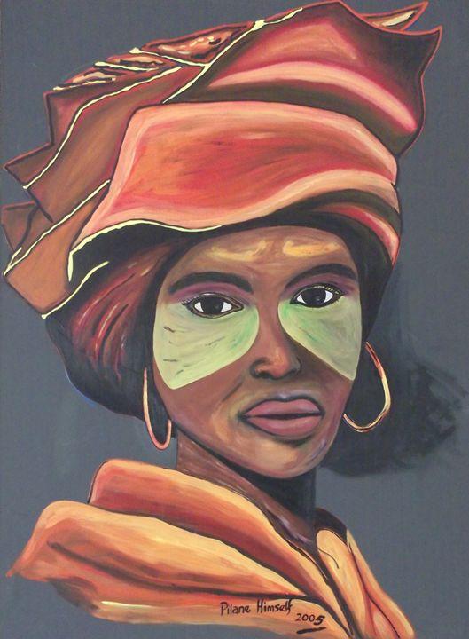 Xhosa Lady - Pilane Himself