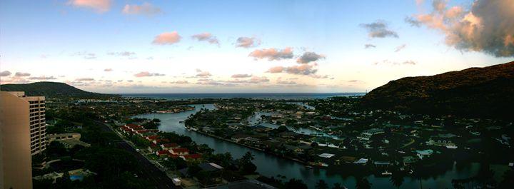 Hawaii Kai Dawn - Abstract Thinking