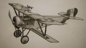 Nieuport 11.c-1 (1915) by Joe Demarc
