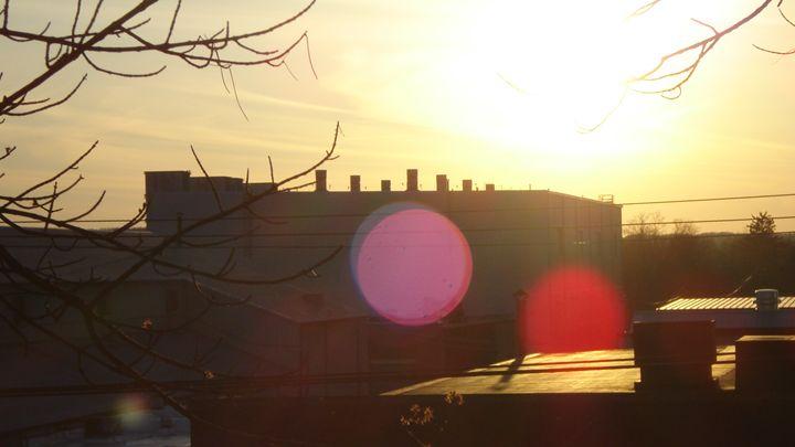 ohio sunset - liliann