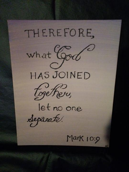 mark 10:9 - ac
