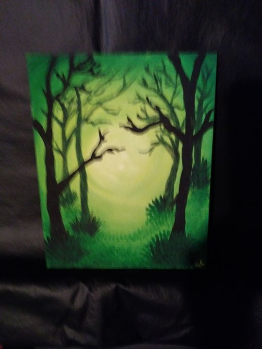creepy trees - ac