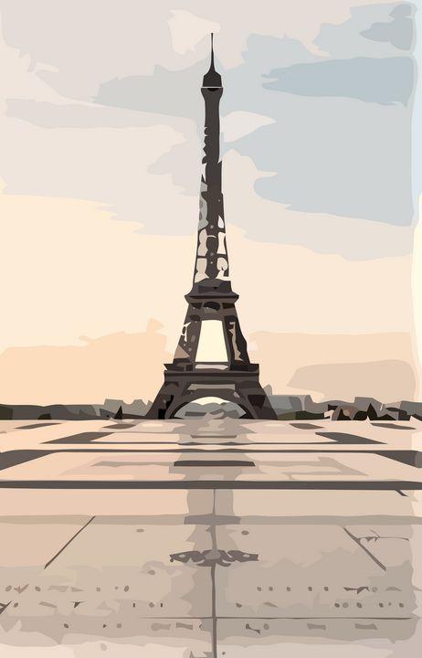 Eiffel Tower - Stewzart