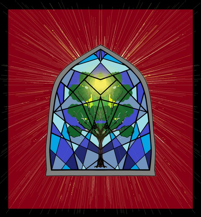 Window Stained Glass - Stewzart