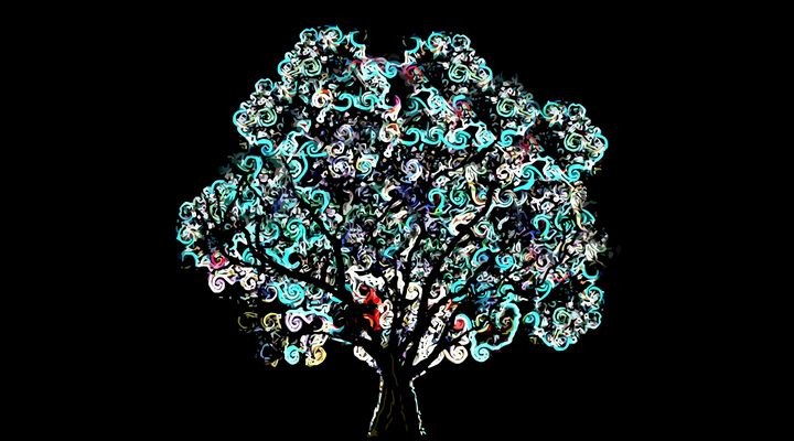 Turquoise Tree - Stewzart