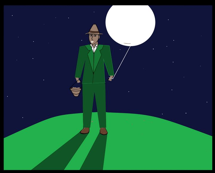 Man With The Moon On A String - Stewzart