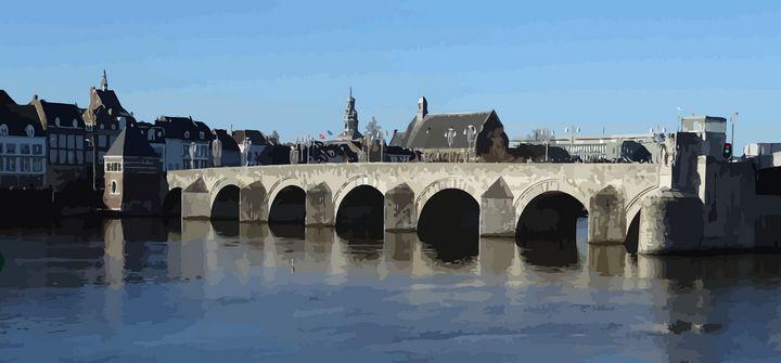 Old Bridge Maastricht - Stewzart