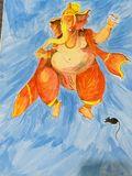 Ganapati Painting