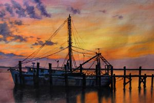 BEAUFORT SHRIMP BOAT - Portrait Masterpieces