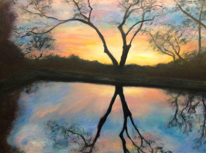 Sunset Encounter - martha gipson