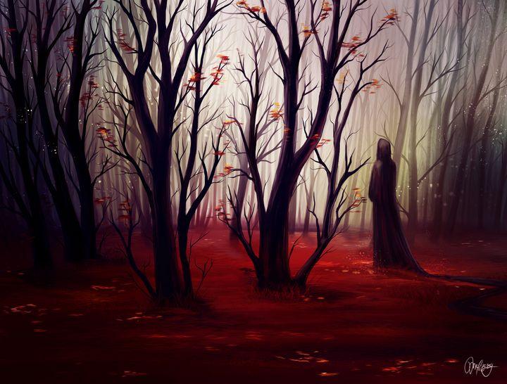 Quiet forest - MelazergArt