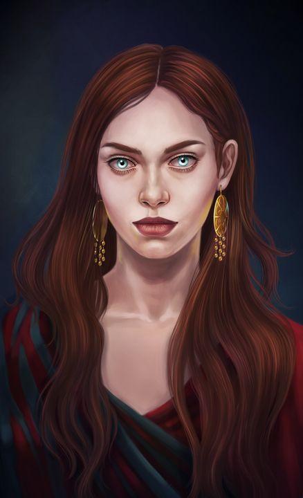 Redhead girl - MelazergArt