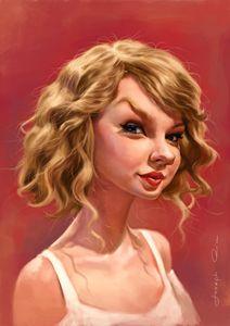 Taylor Swift - Joseph Qiu ART