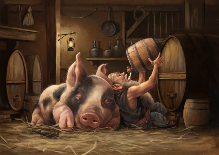 Pigtail - Joseph Qiu ART