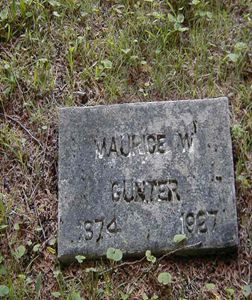 Maurice Wesley Gunter Grave Cemetery