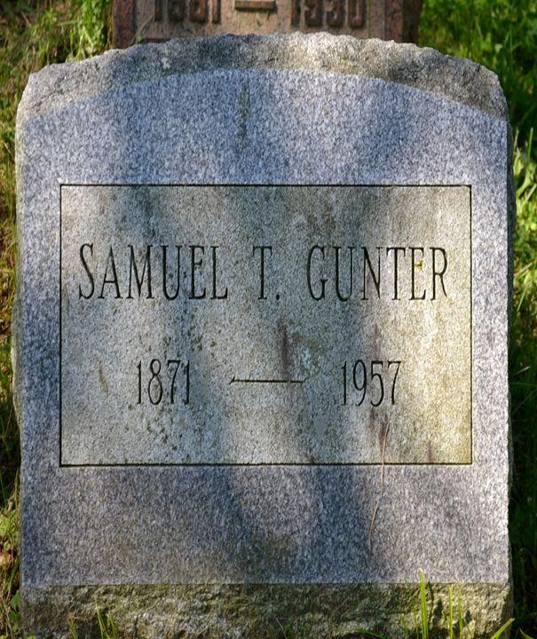 Samuel T Gunter Grave 1957 - Fabulous Sammie