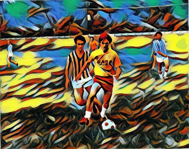 Soccer Guys @ Play Field - Fabulous Sammie