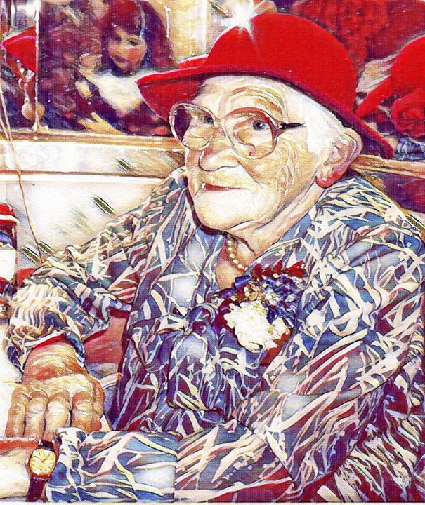 My grandmother - Fabulous Sammie