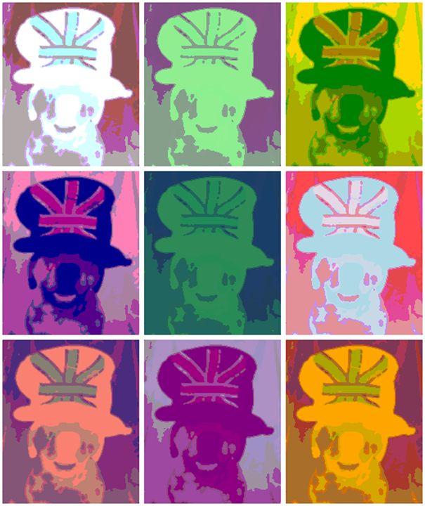 Marley wearing British Hat Effect - Fabulous Sammie