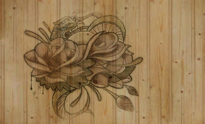 Oldschool style - Hart Art