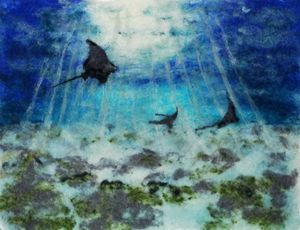 Dance of the Eagle Rays