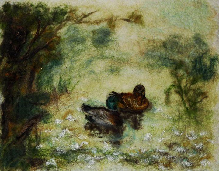 Pond of Peace - Susanne Weber
