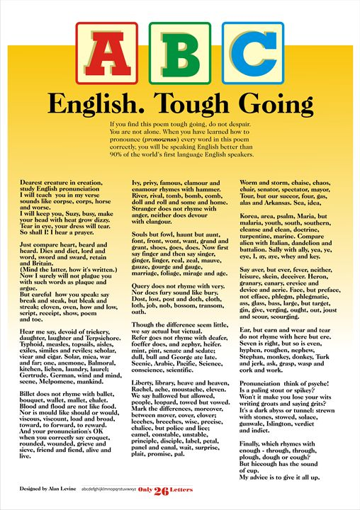 English. Tough Going - Alan Levine
