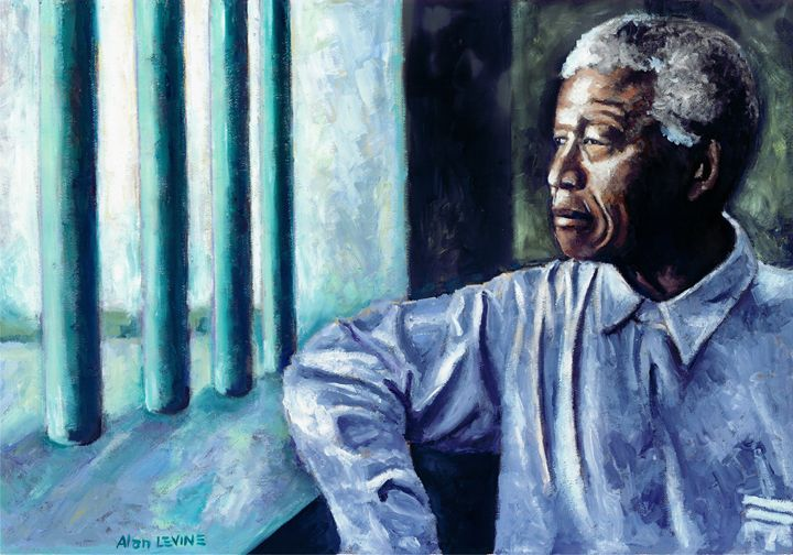 Mandela - In Cell - Alan Levine