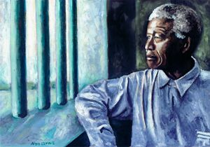 Mandela - In Cell
