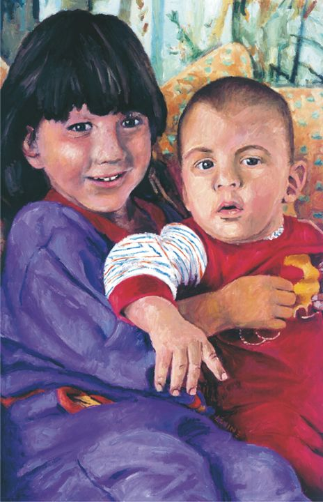 Sister and Brother - Alan Levine