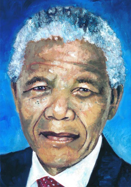 Mandela Portrait 1 - Alan Levine
