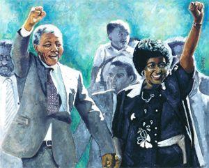 Mandela - Leaving Prison