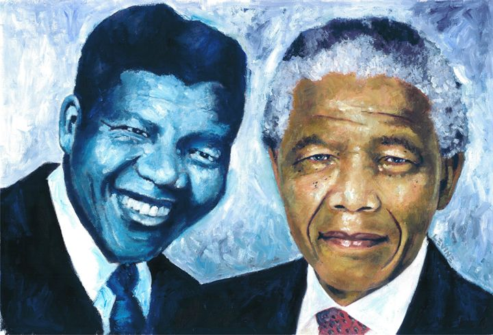 Mandela - Young and Old - Alan Levine