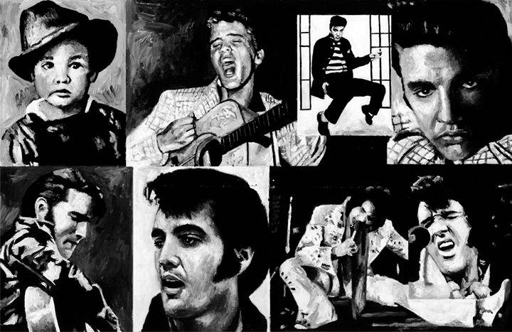 Elvis - The King - Alan Levine