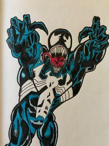 Venom Comic Style