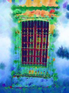 Colorful window.