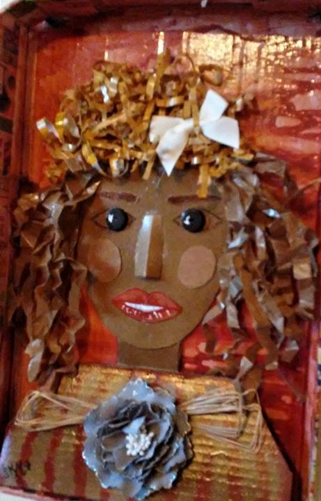 CARDBOARD CATE - Autumn Lady Creations