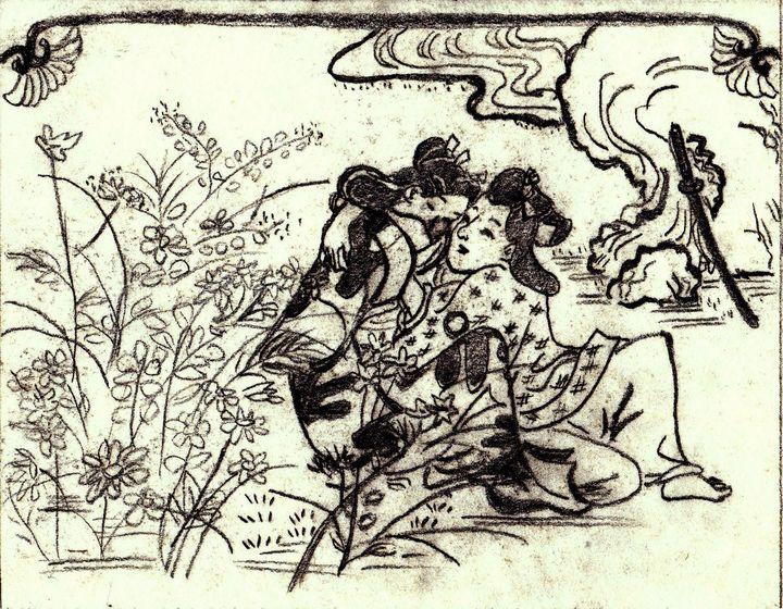 ASIAN COUPLE - Autumn Lady Creations