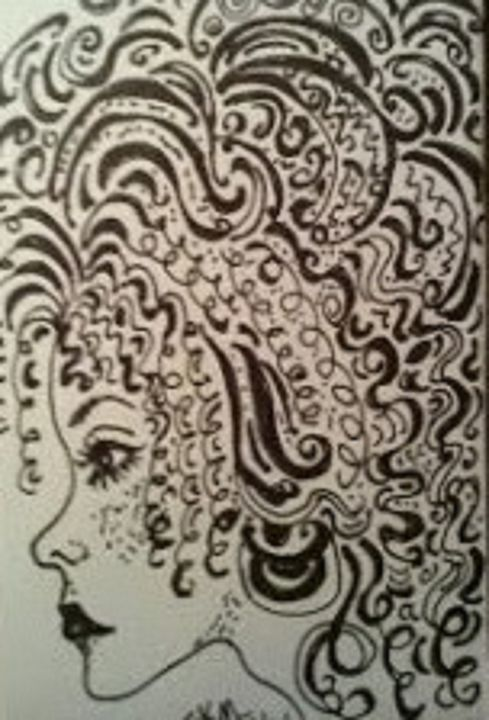 ZENTANGLE COIF - Autumn Lady Creations