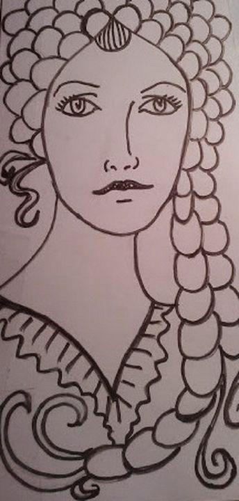 ZENTANGLE BRAID - Autumn Lady Creations