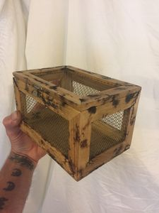 Wooden Screenbox/cage