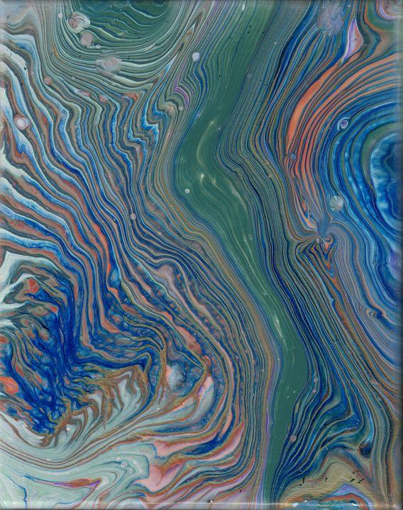Splitting hairs - Second life fluid art